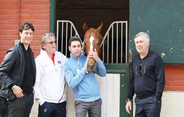 Ancelotti đam mê nuôi ngựa