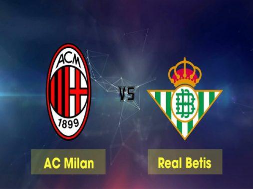 Link sopcast: AC Milan vs Real Betis 23h55 ngày 25/10