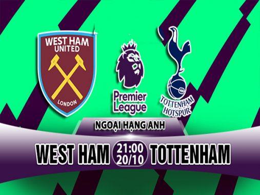 Link sopcast: West Ham vs Tottenham Hotspur, 21h00 ngày 20/10