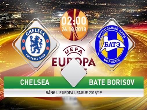 Link sopcast: Chelsea vs BATE Borisov, 02h00 ngày 26/10