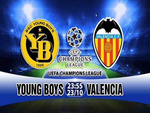 Link sopcast: Young Boys vs Valencia 23h55 ngày 23/10 – Cúp C1 Châu Âu