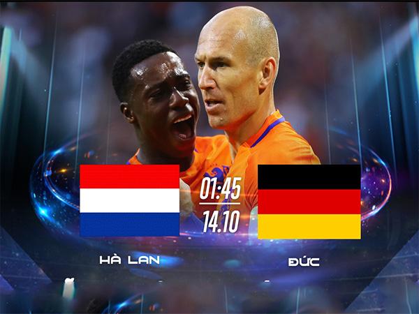 Link sopcast: Hà Lan vs Đức
