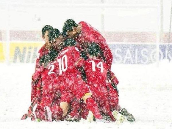 U23 Việt Nam với chiến thắng ở Thường Châu