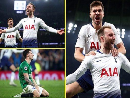4 điểm nhấn đáng chú ý trận Tottenham 1-0 Brighton