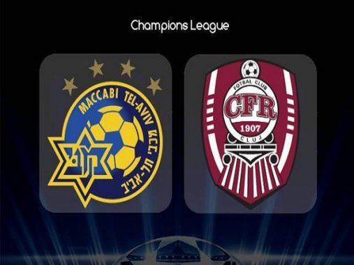 Phân tích kèo Maccabi Tel Aviv vs CFR Cluj, 0h00 ngày 31/07