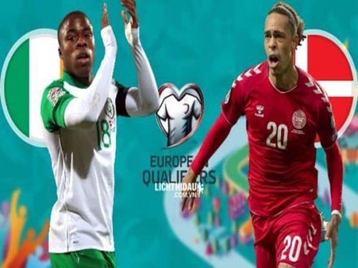 Soi kèo CH Ireland vs Đan Mạch, 02h45 ngày 19/11
