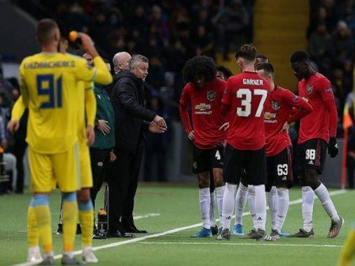 Dù đã chơi ở giải Hạng 2 nhưng Manchester United vẫn thất bại