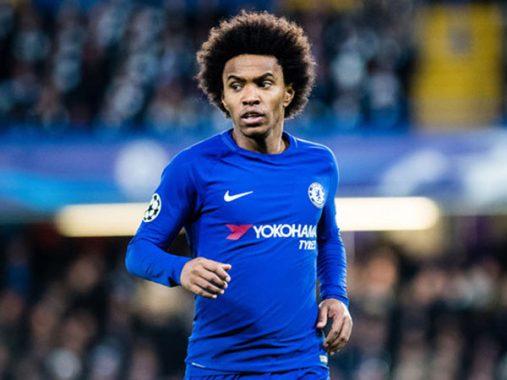 Willian sẵn sàng rời Chelsea để tái ngộ Jose Mourinho