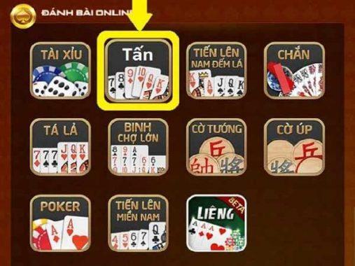 Game chơi bài tấn- game vận dụng trí não cực hay