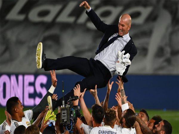 Zidane không chắc sẽ còn dẫn dắt Real mùa tới