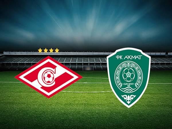 Soi kèo Spartak Moscow vs Akhmat Grozny 00h00, 15/08 - VĐQG Nga