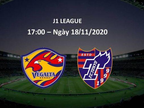 Soi kèo Vegalta Sendai vs FC Tokyo, 17h00 ngày 18/11/2020