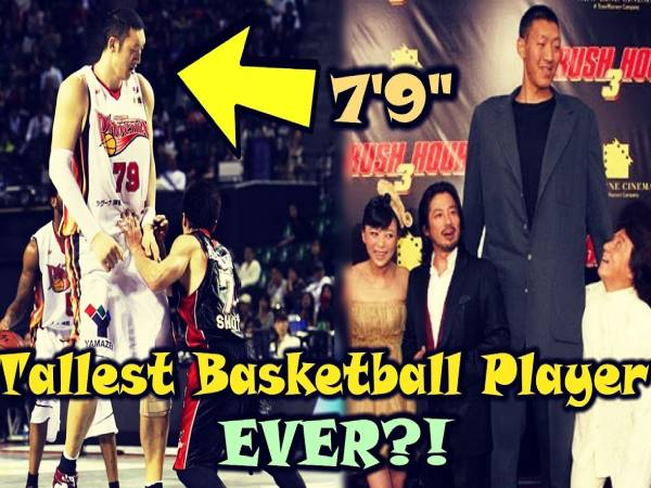 4 cầu thủ bóng rổ cao nhất hiện nay lộ chiều cao khủng