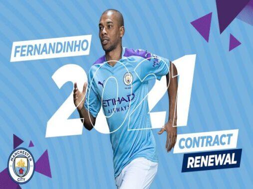 Chuyển nhượng trưa 18/6: Man City trói chân Fernandinho thêm 1 mùa